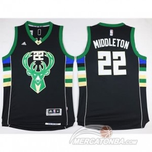 Canotte Middleton,Milwaukee Bucks Nero