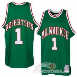 Canotte Robertson,Milwaukee Bucks Verde