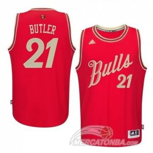 Canotte Butler Christmas,Chicago Bulls Rosso