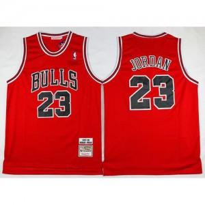 Canotte Retro Jordan 97-98,Chicago Bulls Rosso