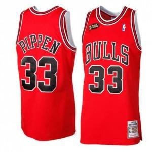 Canotte Retro Pippen 97-98,Chicago Bulls Rosso