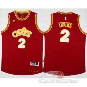 Canotte Retro Irving,Cleveland Cavaliers Rosso