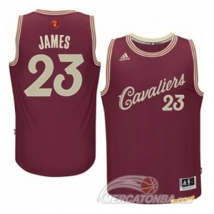 Canotte James Christmas,Cleveland Cavaliers Rosso
