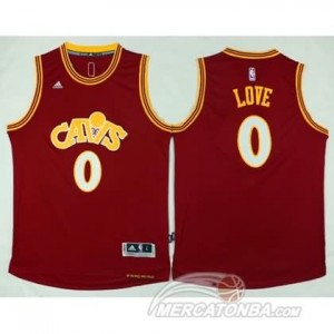 Canotte Retro Love,Cleveland Cavaliers Rosso