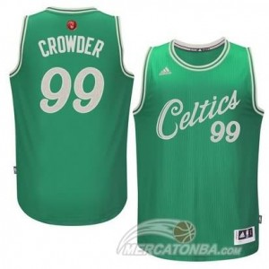 Canotte Crowder Christmas,Boston Celtics Verde