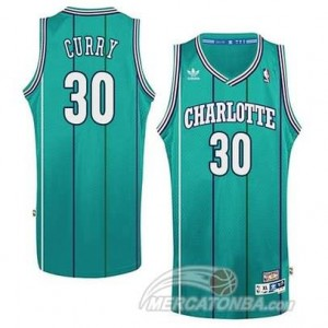 Canotte Charlotte Curry,New Orleans Hornets Verde