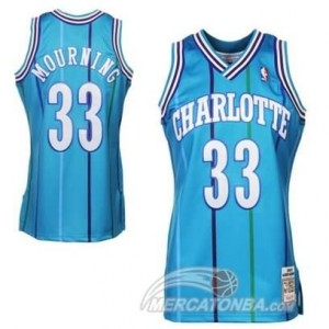 Canotte Charlotte Mourning,New Orleans Hornets Blu