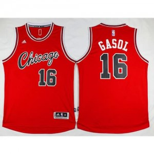 Canotte Retro Gasol,Chicago Bulls Rosso