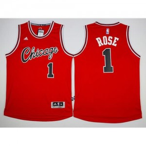 Canotte Retro Rose,Chicago Bulls Rosso