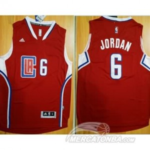 Canotte Jordan,Los Angeles Clippers Rosso