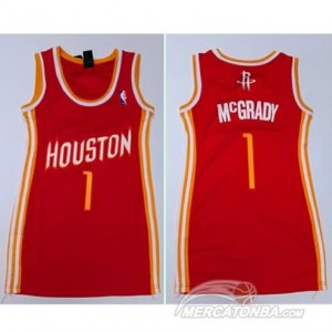 Canotte Donna McGrady,Houston Rockets Rosso