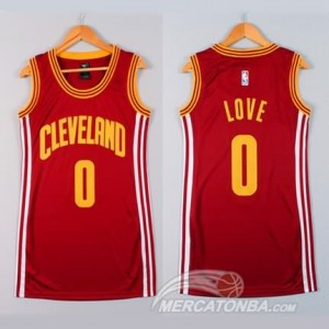 Canotte Donna Love,Cleveland Cavaliers Rosso