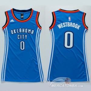 Canotte Donna Westbrook,Oklahoma City Thunder Blu