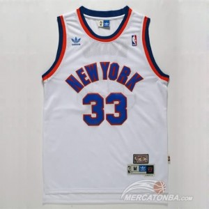 Canotte Ewing,New York Knicks Bianco