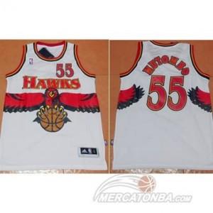 Canotte Mutombo,Atlanta Hawks Bianco