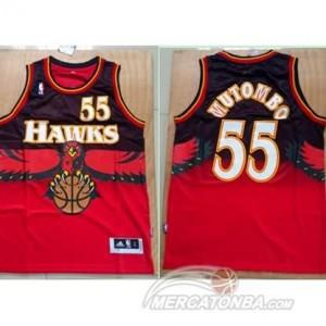 Canotte Mutombo,Atlanta Hawks Rosso