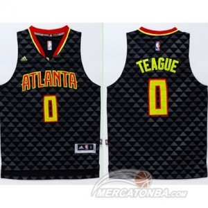 Canotte Teague,Atlanta Hawks Nero