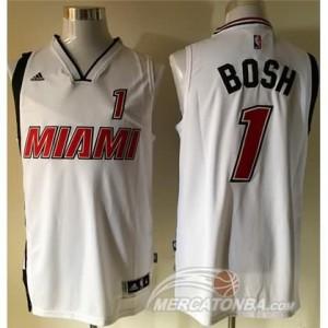 Canotte Bosh,Miami Heats Bianco