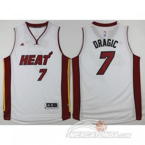 Canotte Dragic,Miami Heats Bianco