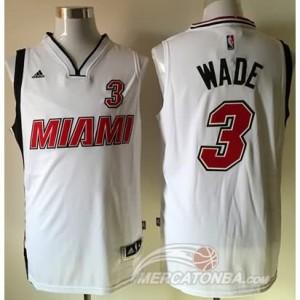 Canotte Wade,Miami Heats Bianco