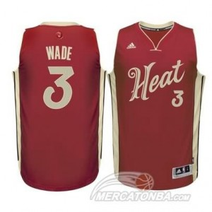 Canotte Wade Christmas,Miami Heats Rosso