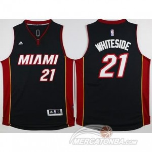 Canotte Whiteside,Miami Heats Nero