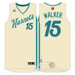 Canotte Walker Christmas ,Charlotte Hornets Bianco