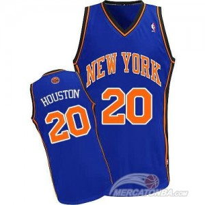 Canotte Houston,New York Knicks Blu