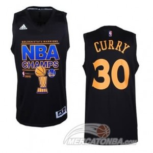 Canotte NBA Finals Champions Iguodala Curry 2014 Nero