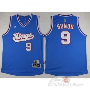 Canotte Rondo 15-16,Sacramento Kings Blu