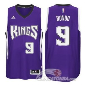 Canotte Rondo,Sacramento Kings Porpora