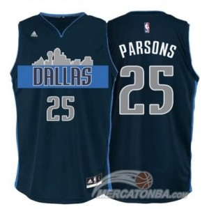 Canotte Parsons,Dallas Mavericks Blu