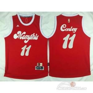 Canotte Conley Christmas,Memphis Grizzlies Rosso