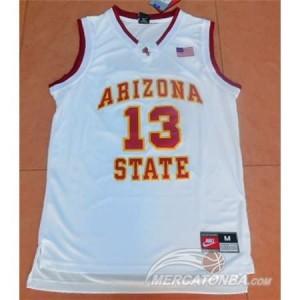 Canotte NCAA Arizona State Harden Bianco