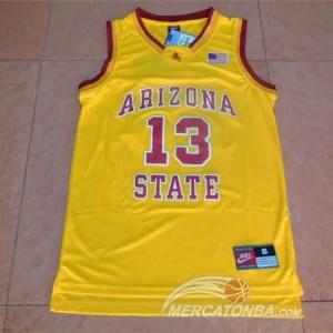 Canotte NCAA Arizona State Harden Giallo