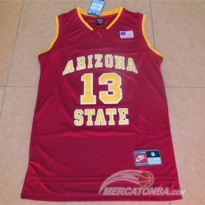 Canotte NCAA Arizona State Harden Rosso