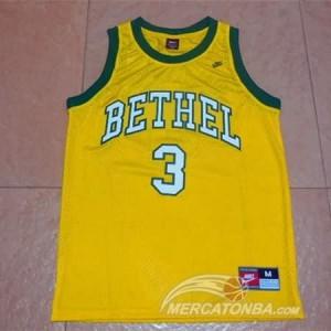 Canotte NCAA Bethel Iverson Giallo