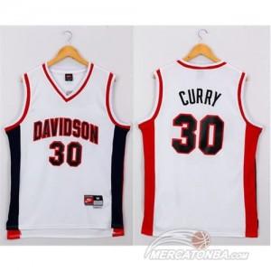 Canotte NCAA Davidson Curry Bianco