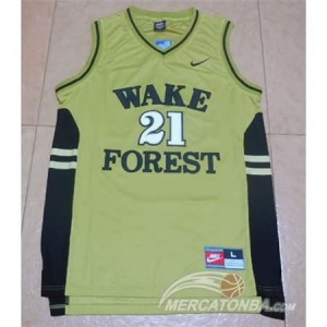 Canotte NCAA Wake Forest Duncan Giallo