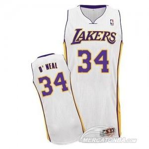 Canotte Rivoluzione 30 O neal,Los Angeles Lakers Bianco