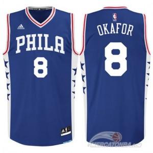 Canotte Okafor,Philadelphia 76ers Blu