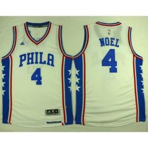 Canotte Phila Noel,Philadelphia 76ers Bianco