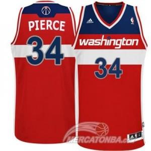 Canotte Rivoluzione 30 Pierce,Washington Wizards Rosso