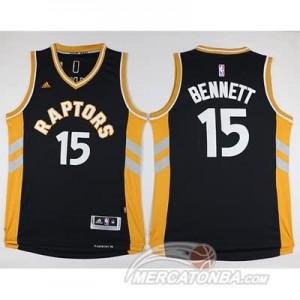Canotte Bennett,Toronto Raptors Nero Oro