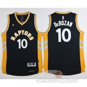 Canotte Derozan,Toronto Raptors Nero Oro