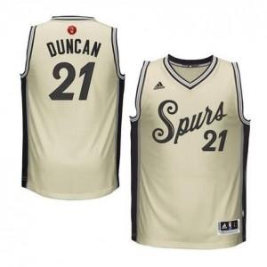 Canotte Duncan Christmas,San Antonio Spurs Bianco