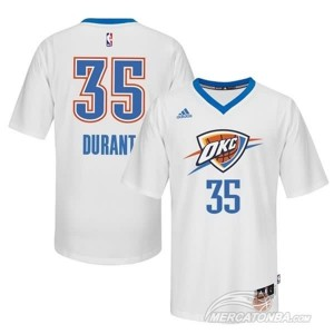 Canotte T-shirt Durant Bianco