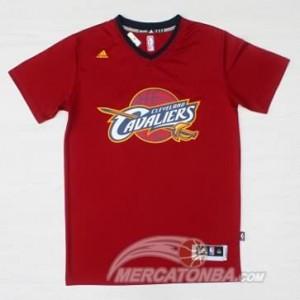 Canotte T-shirt James Rosso