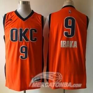 Canotte Ibaka,Oklahoma City Thunder Arancione