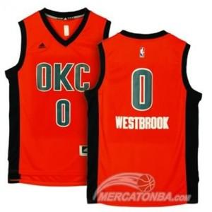 Canotte Westbrook,Oklahoma City Thunder Arancione